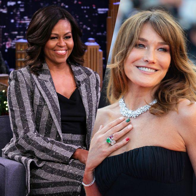 Carla Bruni, Michelle Obama, Sophie Marceau... 50 ans, et plus canon que jamais !