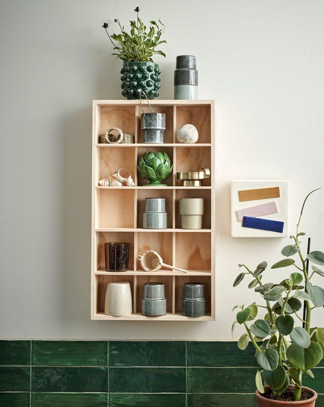 Petit meuble en bois, 34,90 €.