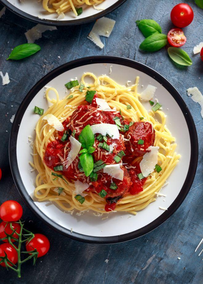 Spaghetti à l'ail et à la tomate