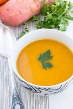 ©istock - Une soupe patate douce - carotte pour avoir bonne mine !