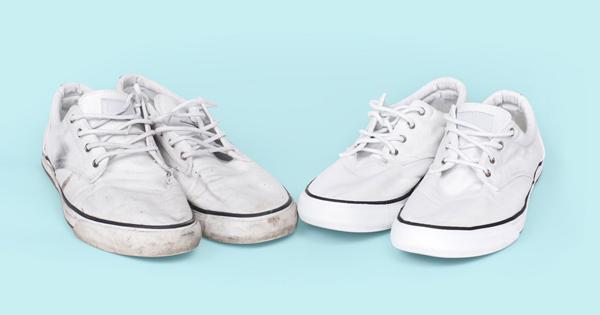 0c8f3b5ceb32b6 So könnt ihr weiße Stoffschuhe ganz einfach und schnell reinigen!