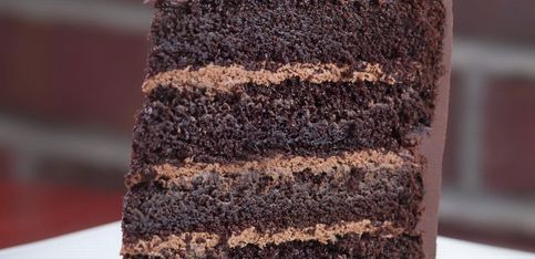 Un gâteau au chocolat maison, comme chez le pâtissier!