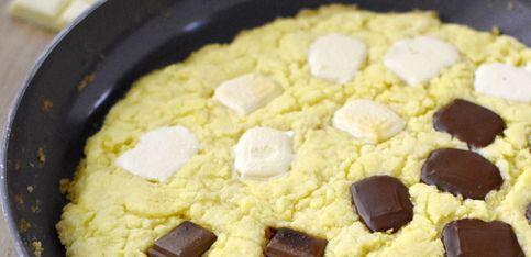 Riesen-Cookie aus der Pfanne: So einfach gelingt er!