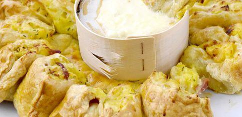 So cheesy! Dieser Ofenkäse-Kartoffel-Ring ist der Hit