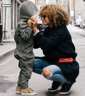 Seu filho te reconheceria apenas pelo toque?