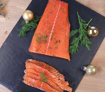 Gravlax: ¡el salmón hecho al estilo noruego!