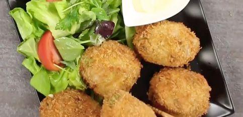 Aguacates fritos con queso, ¡un manjar para el paladar!