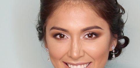 Maquillaje de novia sencillo y favorecedor