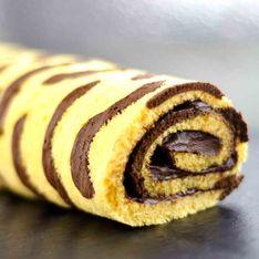 Genial gebacken: Unser Rezept für Tiger-Rolle mit Schokocreme