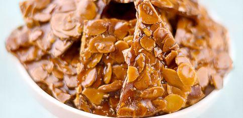 Krokant-Kekse selber machen - ein schnelles Rezept