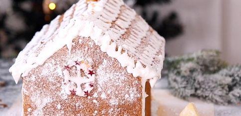 Receta de Navidad: casa de jengibre