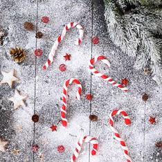 Receta de Navidad: bastoncillos de caramelo