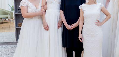 Welches Brautkleid passt zu welcher Figur? Wir haben es ausprobiert!