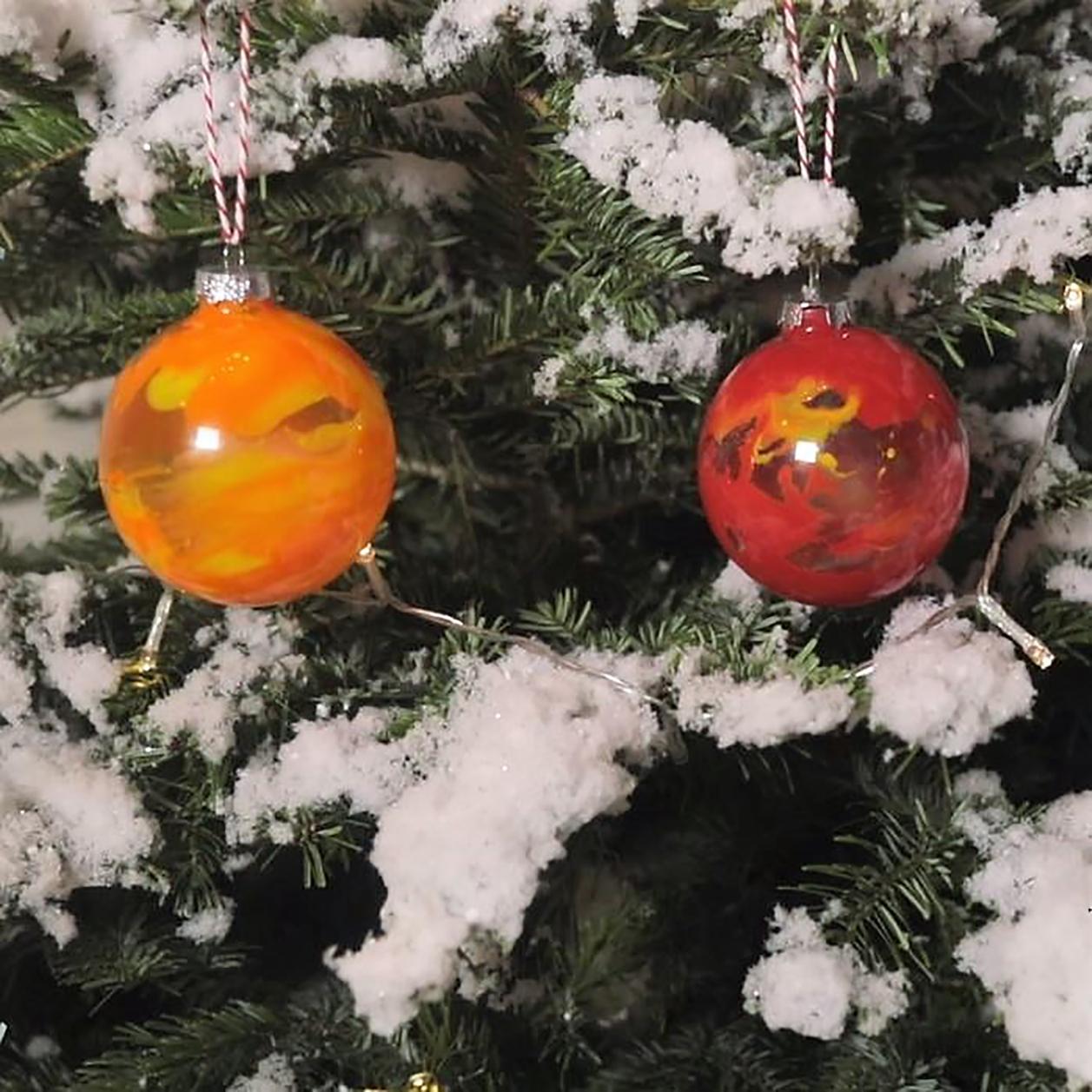 Personnaliser Une Boule De Noel Transparente diy : des boules de noël à personnaliser