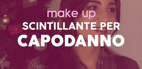 Make up tutorial: trucco scintillante per Capodanno
