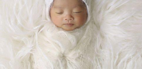 Unas fotografías ideales de los recién nacidos