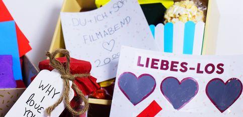 Geschenke zum Valentinstag: 5 romantische DIY-Ideen