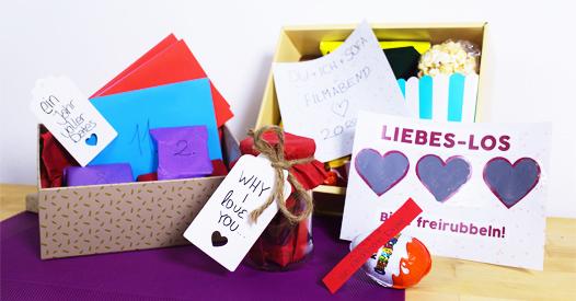 Geschenke Zum Valentinstag 5 Romantische Diy Ideen