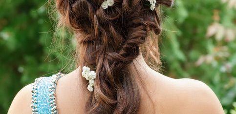 Peinados ideales para damas de honor