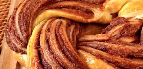 Treccia alla Nutella: la ricetta facile e veloce!