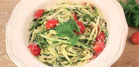 Spaghetti di zucchine: la ricetta facile e veloce!