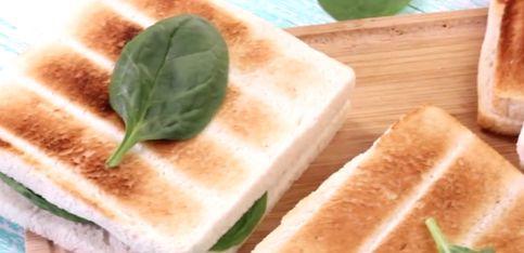 Toast vegetariano: una ricetta facile e veloce!