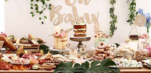 Ideas deco para un baby shower