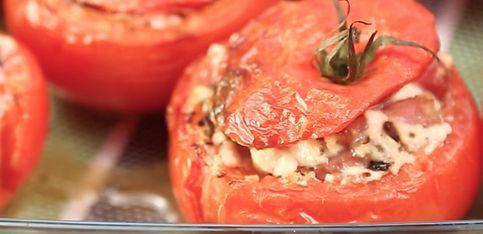 Pomodori ripieni al forno!