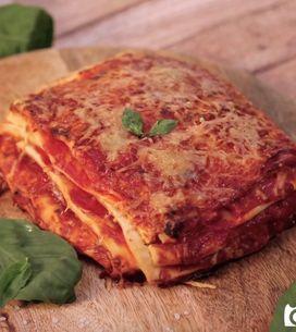 Pizza lasagna!