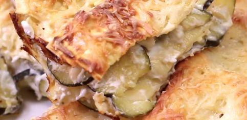 Lasagne di zucchine e formaggio!