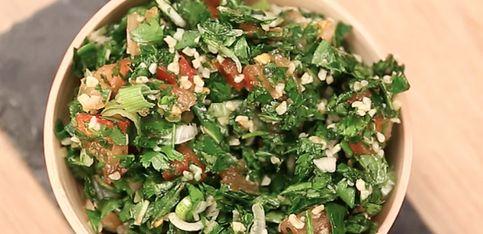 Tabulè: la ricetta originale libanese!