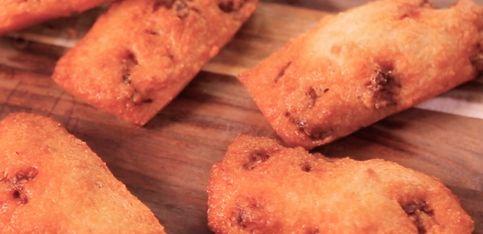 Financier ricetta: al chorizo!