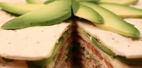 Torta salata di pesce!
