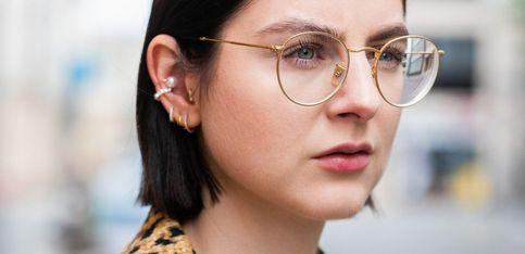Peinados para chicas con gafas