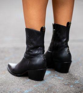 Cómo combinar las botas cowboy