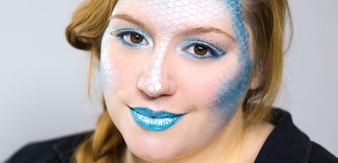 Meerjungfrau schminken: Dieses Make-up-Tutorial ist super einfach