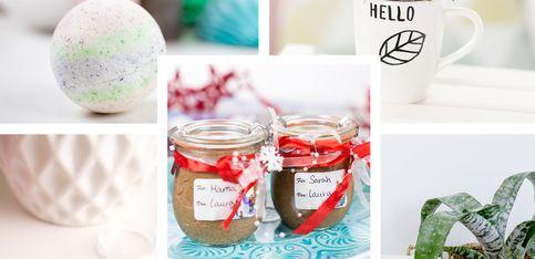 DIY unterm Weihnachtsbaum: 5 Geschenkideen zum Selbermachen