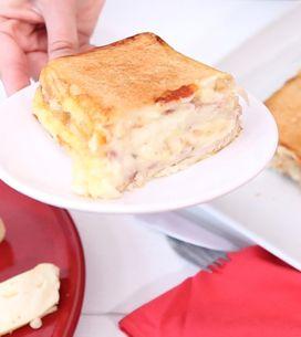 Croque cake: la ricetta della torta salata alla francese!