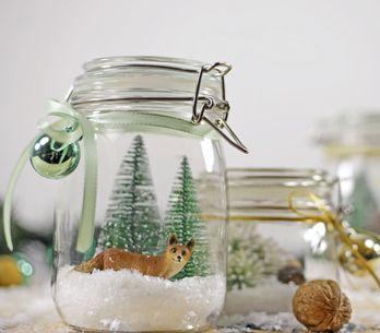 Crea tu propia bola de nieve DIY