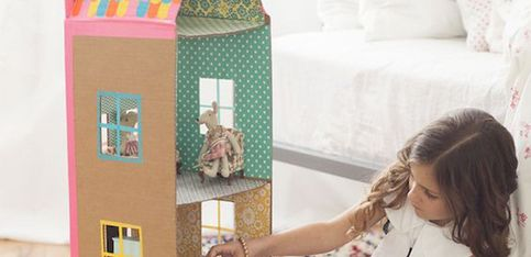 Ideas de juguetes reciclados y DIY