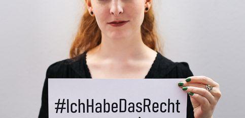 #IchHabeDasRecht: Wir erheben unsere Stimmen am Weltfrauentag