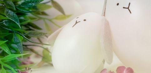 Schnelles Oster-DIY: So werden aus Kunsteiern süße Osterhasen