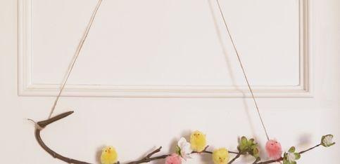 Oster-DIY: Dieser Deko-Ast weckt Frühlingsgefühle