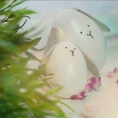 Decorazioni Pasquali: uova a forma di coniglio