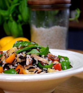 Salade de riz sauvage au thon en 20 minutes