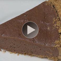 ¡Delicioso bizcocho de Nutella sin horno!