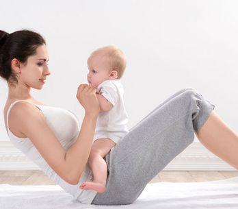 Ejercicios postparto con tu bebé, ponte en forma y diviértete con él