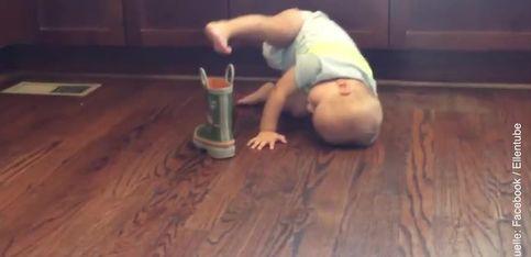 ¡Un nuevo método para ponerse las botas!