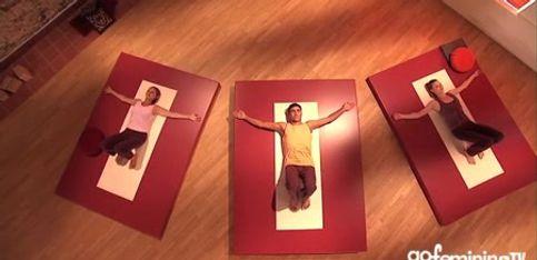 Rücken-Yoga sorgt für Entspannung pur!