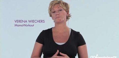 Schwangerschaftsgymnastik mit Verena Wiechers Video 1: Haltungsschulung